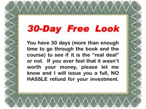 30-Day Free Look